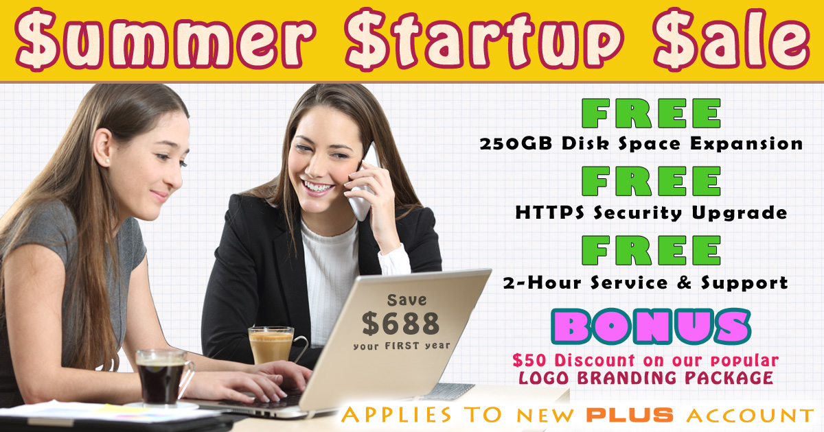 Summer Startup Sale Click Here